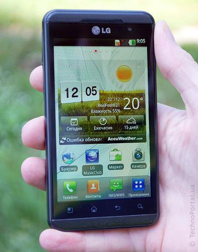 LG Optimus (Элджи Оптимус)