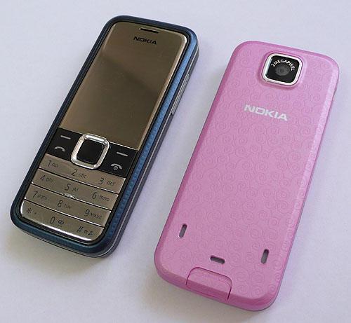 Дизайн Nokia 7310 Supernova